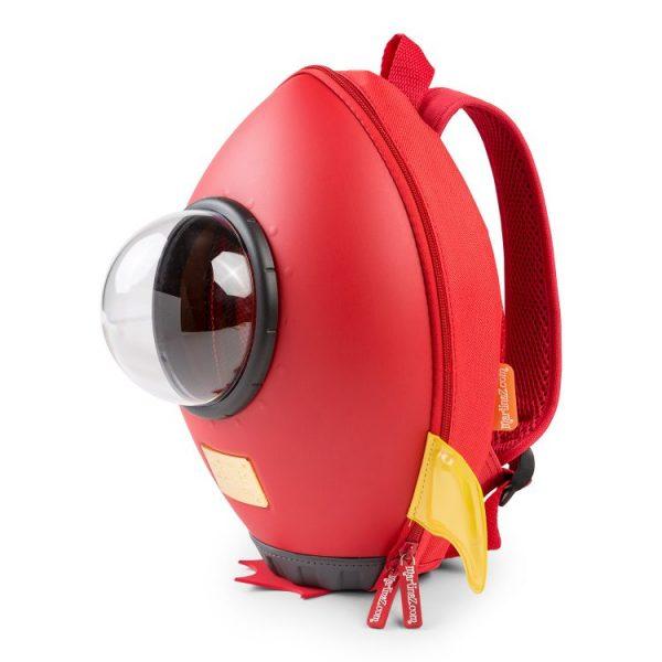Batůžek pro děti- Raketa červená