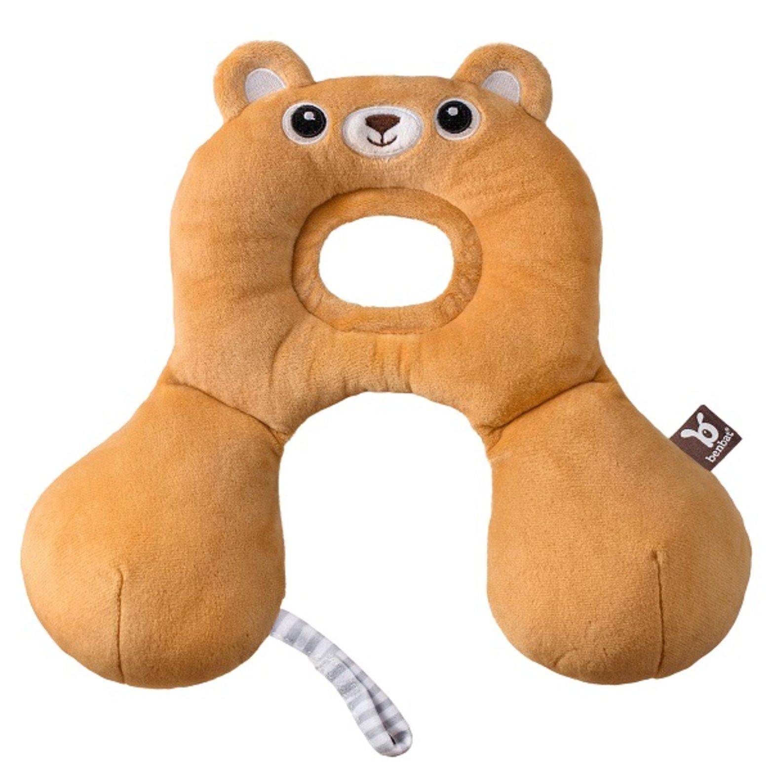 Zákrčník pro malé děti s opěrkou hlavý od 0-13kg medvídek